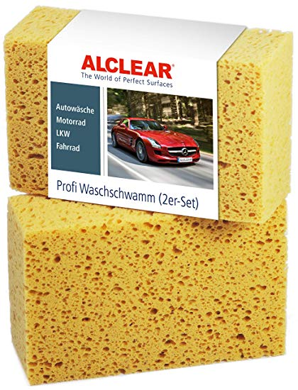 Alclear 6080WS 2er Set Auto Waschschwamm