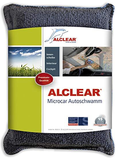 Alclear 950014 Ultra-Microfaser Autoschwamm Microcar