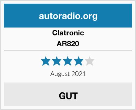 Clatronic AR820 Test