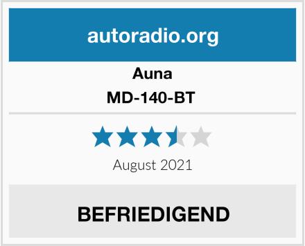 Auna MD-140-BT  Test