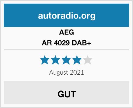 AEG AR 4029 DAB+ Test
