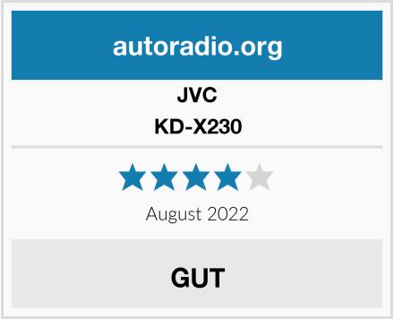 JVC KD-X230 Test