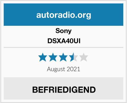Sony DSXA40UI Test