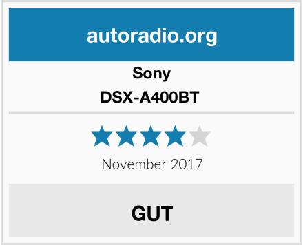 Sony DSX-A400BT  Test