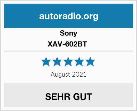 Sony XAV-602BT  Test
