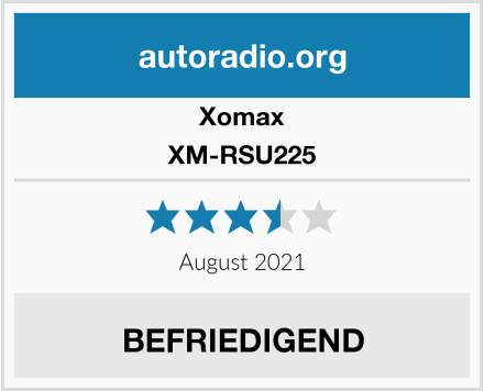 Xomax XM-RSU225 Test