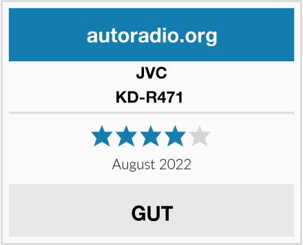JVC KD-R471  Test