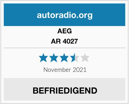 AEG AR 4027 Test