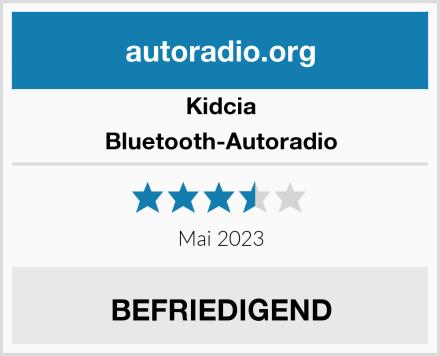 Kidcia Bluetooth-Autoradio Test