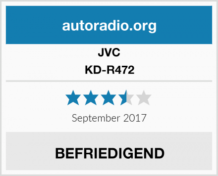 JVC KD-R472 Test