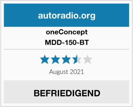 oneConcept MDD-150-BT Test
