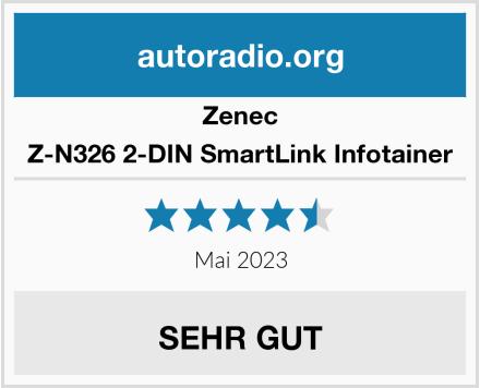 Zenec Z-N326 2-DIN SmartLink Infotainer Test