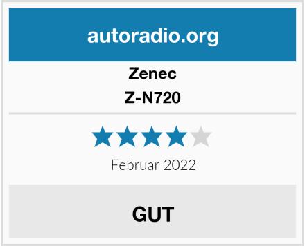 Zenec Z-N720 Test