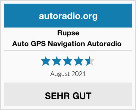 Rupse Auto GPS Navigation Autoradio  Test