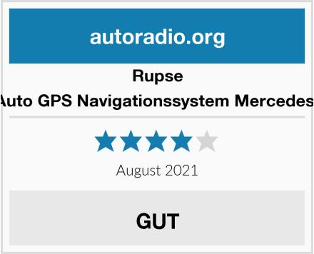 Rupse Auto GPS Navigationssystem Mercedes  Test