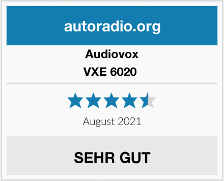 Audiovox VXE 6020  Test