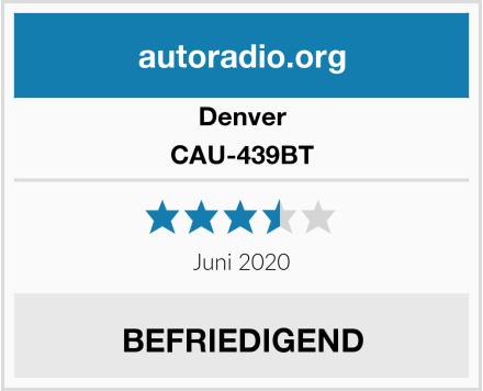 Denver CAU-439BT Test