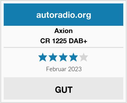 Axion CR 1225 DAB+ Test