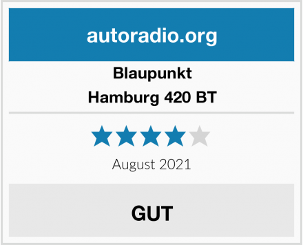 Blaupunkt Hamburg 420 BT Test