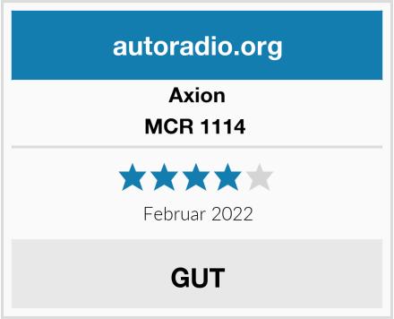 Axion MCR 1114  Test
