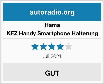 Hama KFZ Handy Smartphone Halterung Test