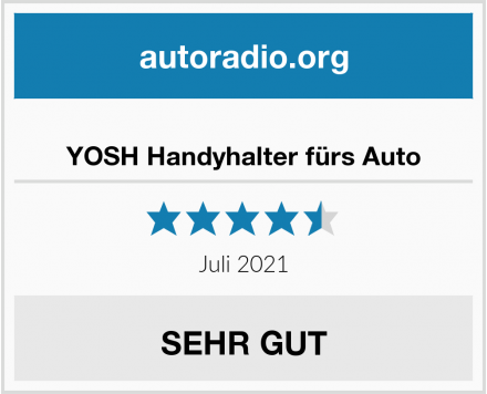 No Name YOSH Handyhalter fürs Auto  Test
