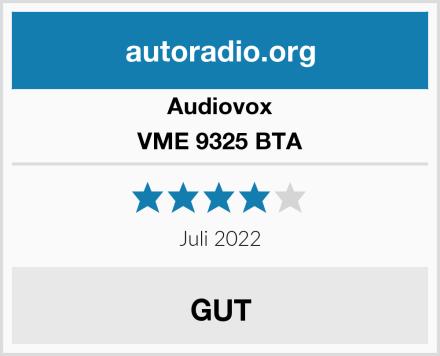 Audiovox VME 9325 BTA Test