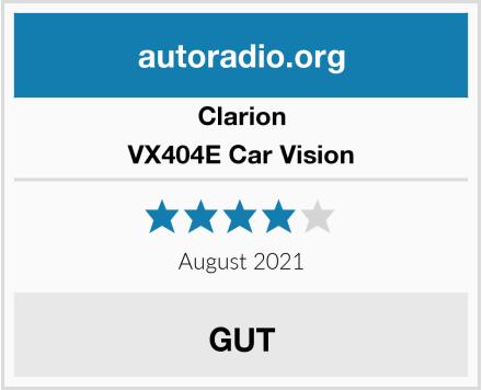 Clarion VX404E Car Vision Test