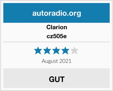 Clarion cz505e  Test