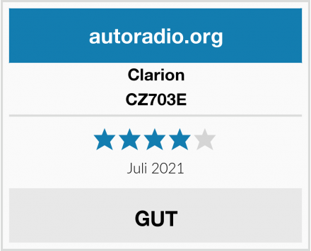 Clarion CZ703E  Test