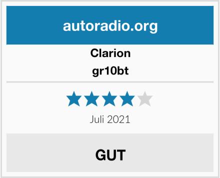 Clarion gr10bt  Test