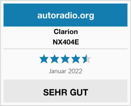 Clarion NX404E Test