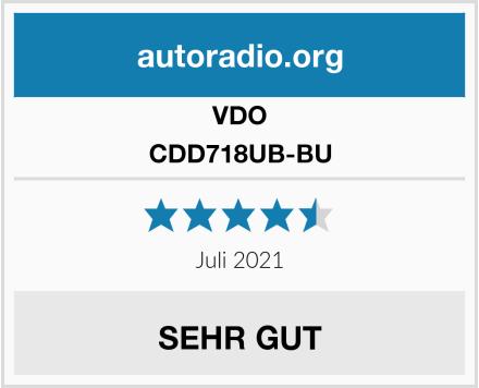 VDO CDD718UB-BU  Test