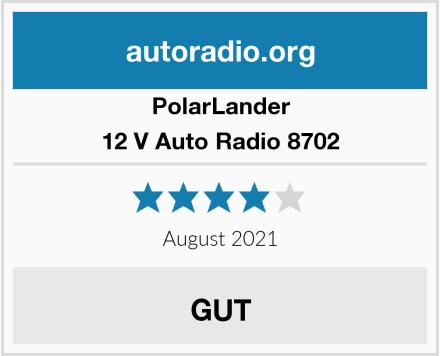 PolarLander 12 V Auto Radio 8702 Test
