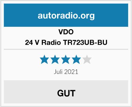VDO 24 V Radio TR723UB-BU Test