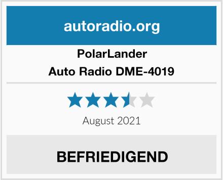 PolarLander Auto Radio DME-4019 Test