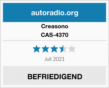 Creasono CAS-4370 Test