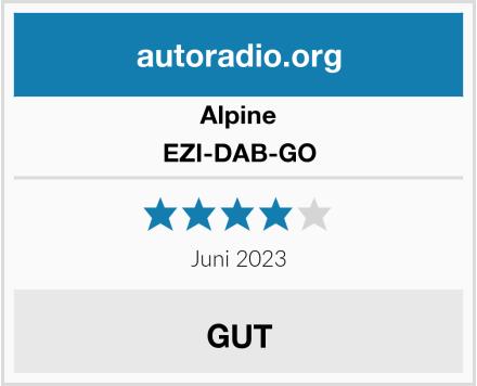 Alpine EZI-DAB-GO Test