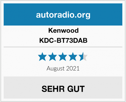 Kenwood KDC-BT73DAB Test