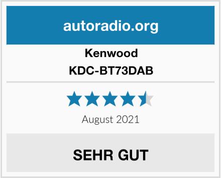 Kenwood KDC-BT73DAB Test