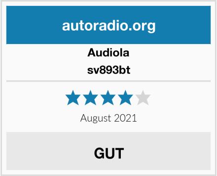 Audiola sv893bt  Test