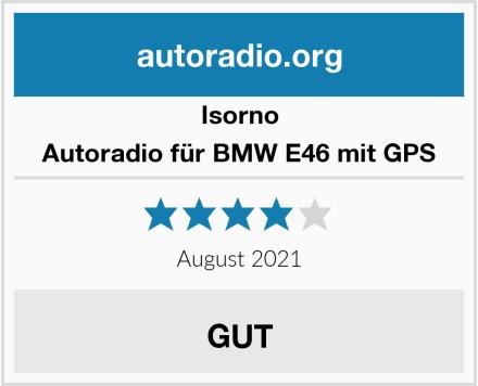 Isorno Autoradio für BMW E46 mit GPS Test