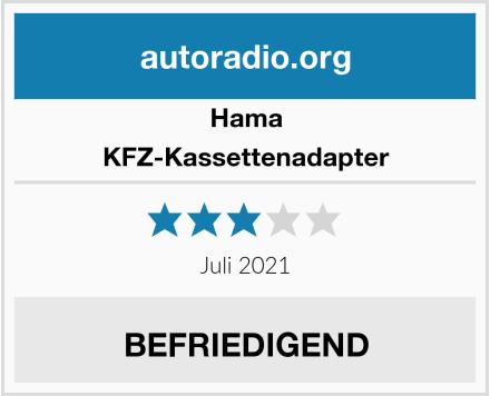 Hama KFZ-Kassettenadapter Test