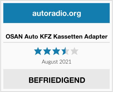 OSAN Auto KFZ Kassetten Adapter  Test