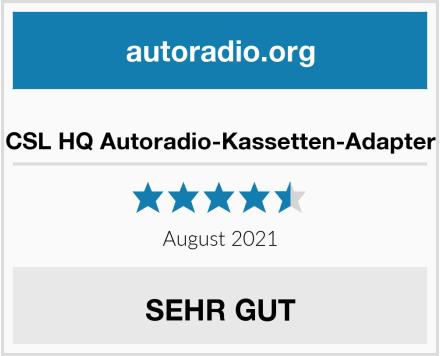 CSL HQ Autoradio-Kassetten-Adapter  Test