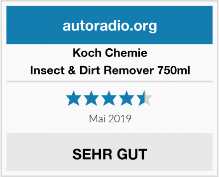 Koch Chemie Insect & Dirt Remover 750ml Test