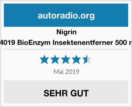 Nigrin 74019 BioEnzym Insektenentferner 500 ml Test