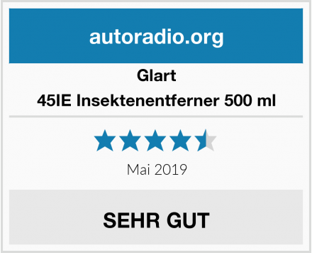 Glart 45IE Insektenentferner 500 ml Test