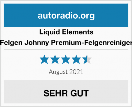 Liquid Elements Felgen Johnny Premium-Felgenreiniger Test