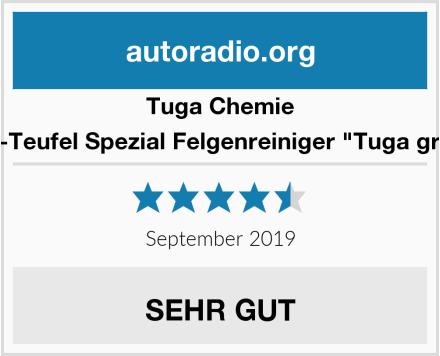 "Tuga Chemie Alu-Teufel Spezial Felgenreiniger ""Tuga grün"" Test"